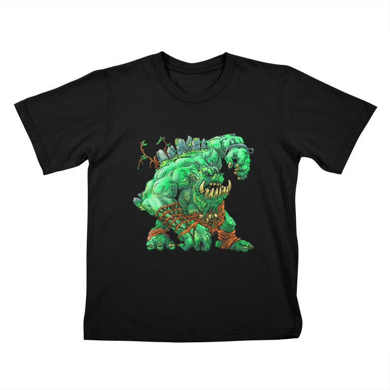 Straight Trollin' Kids T-Shirt by