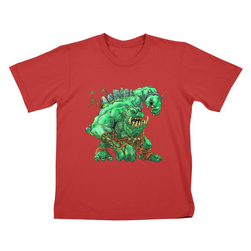 Straight Trollin' Kids T-Shirt by
