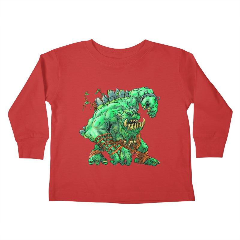 Straight Trollin' Kids Toddler Longsleeve T-Shirt by