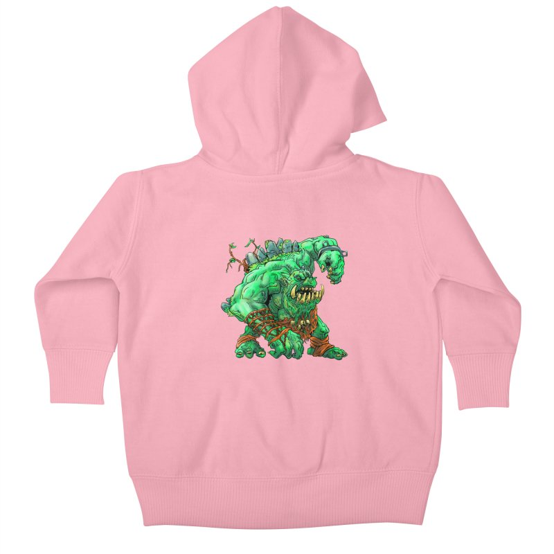 Straight Trollin' Kids Baby Zip-Up Hoody by