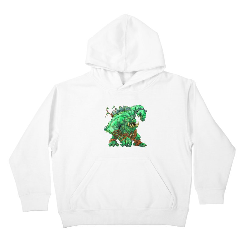 Straight Trollin' Kids Pullover Hoody by