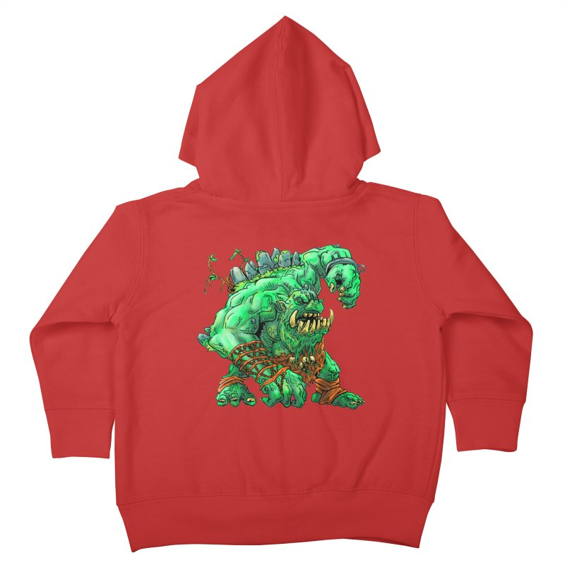 Straight Trollin' Kids Toddler Zip-Up Hoody by