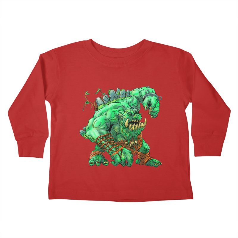 Straight Trollin' Kids Toddler Longsleeve T-Shirt by