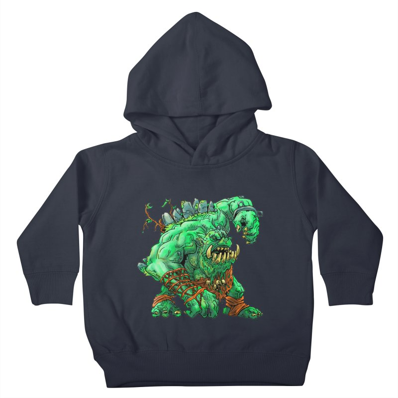 Straight Trollin' Kids Toddler Pullover Hoody by