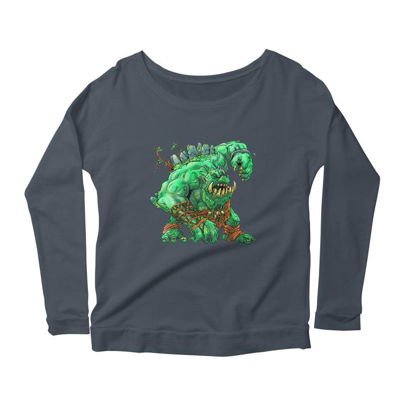 Straight Trollin' Women's Scoop Neck Longsleeve T-Shirt by