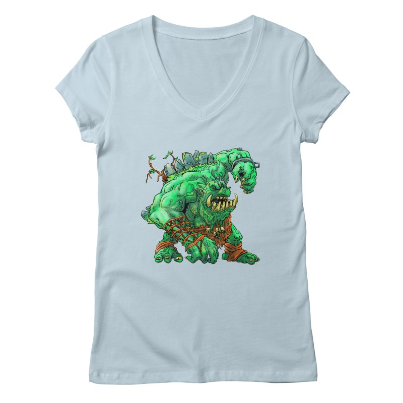 Straight Trollin' Women's Regular V-Neck by