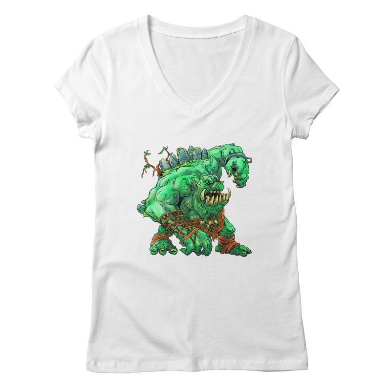 Straight Trollin' Women's V-Neck by