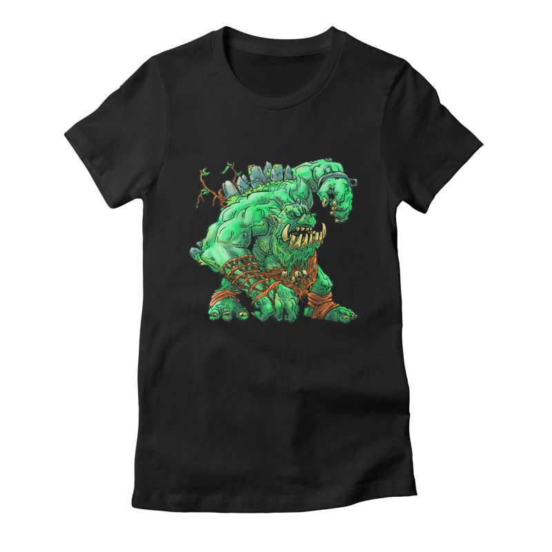 Straight Trollin' Women's Fitted T-Shirt by