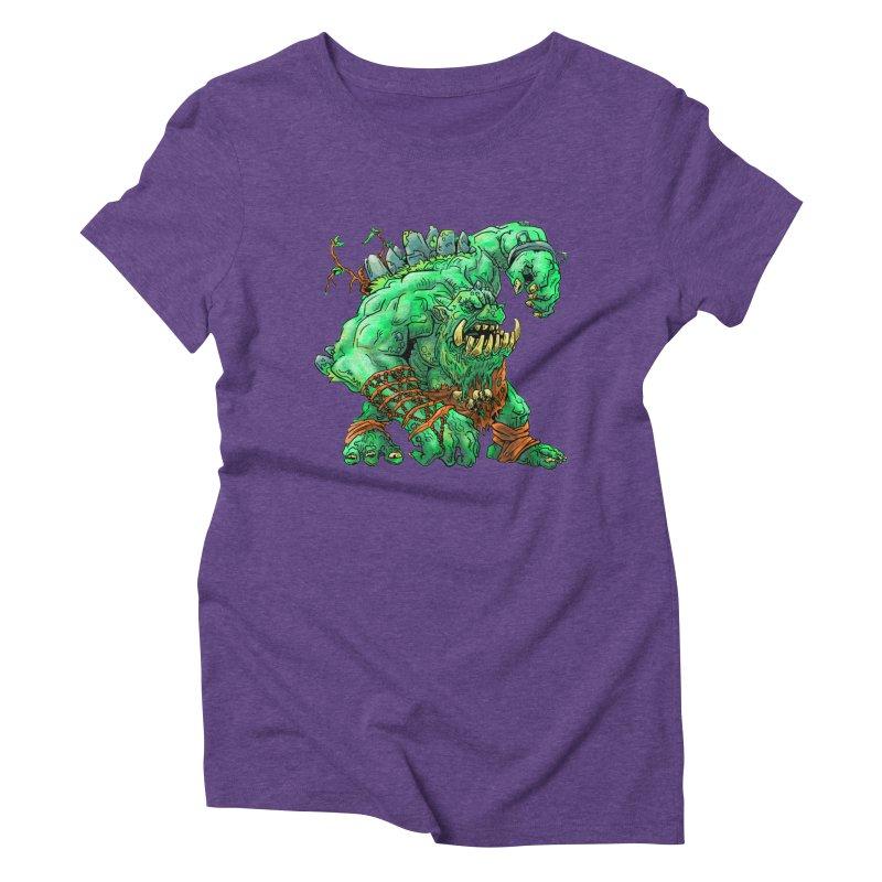 Straight Trollin' Women's Triblend T-Shirt by
