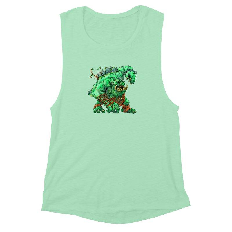 Straight Trollin' Women's Muscle Tank by