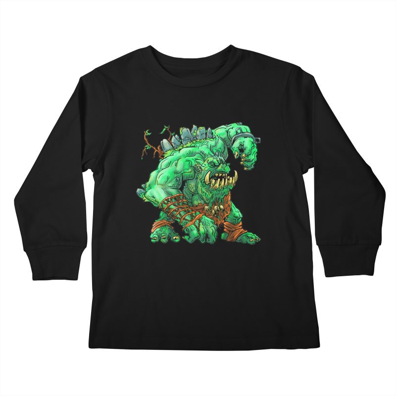 Straight Trollin' Kids Longsleeve T-Shirt by