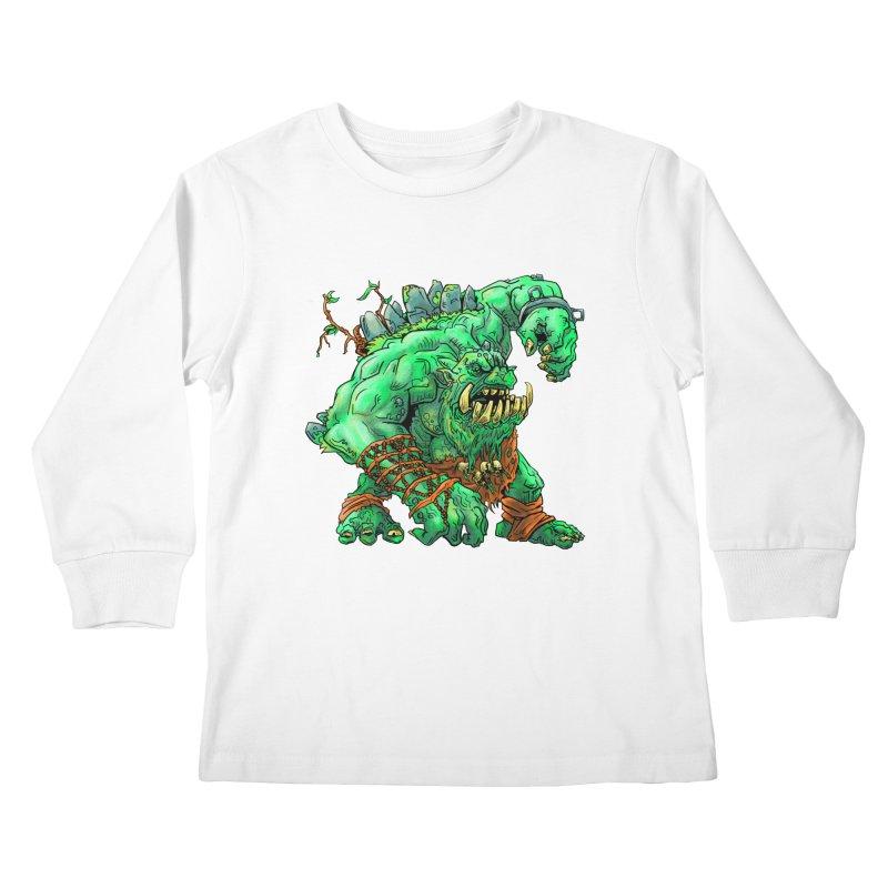 Straight Trollin' Kids Longsleeve T-Shirt by