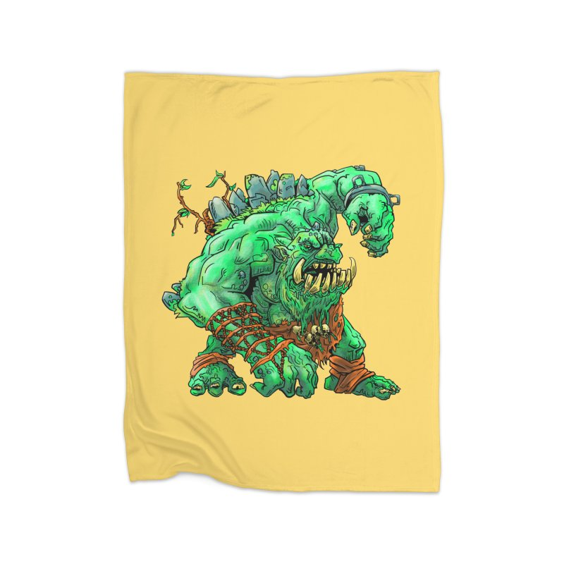 Straight Trollin' Home Fleece Blanket Blanket by