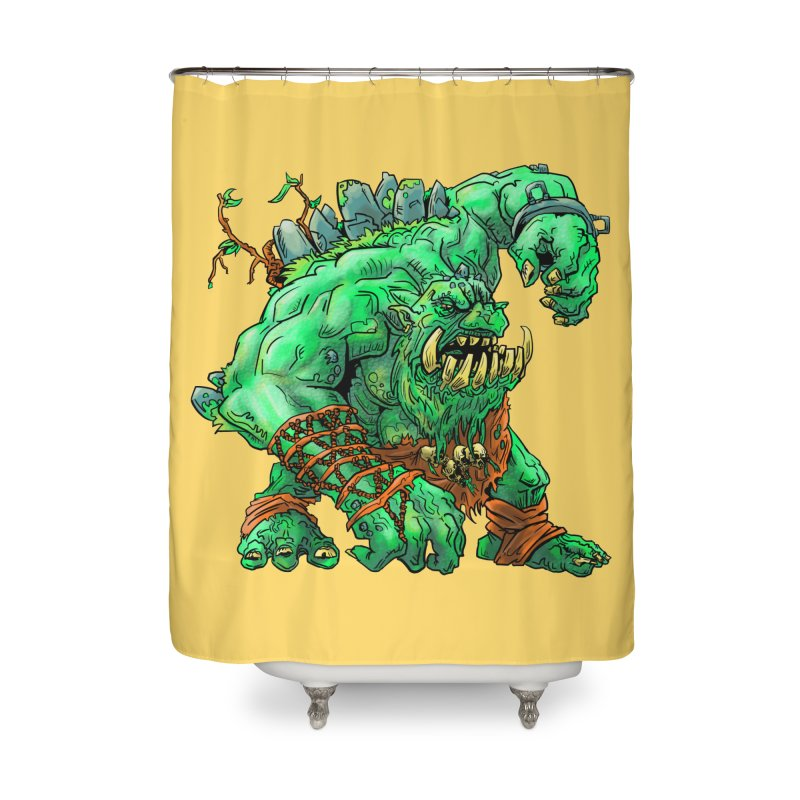 Straight Trollin' Home Shower Curtain by