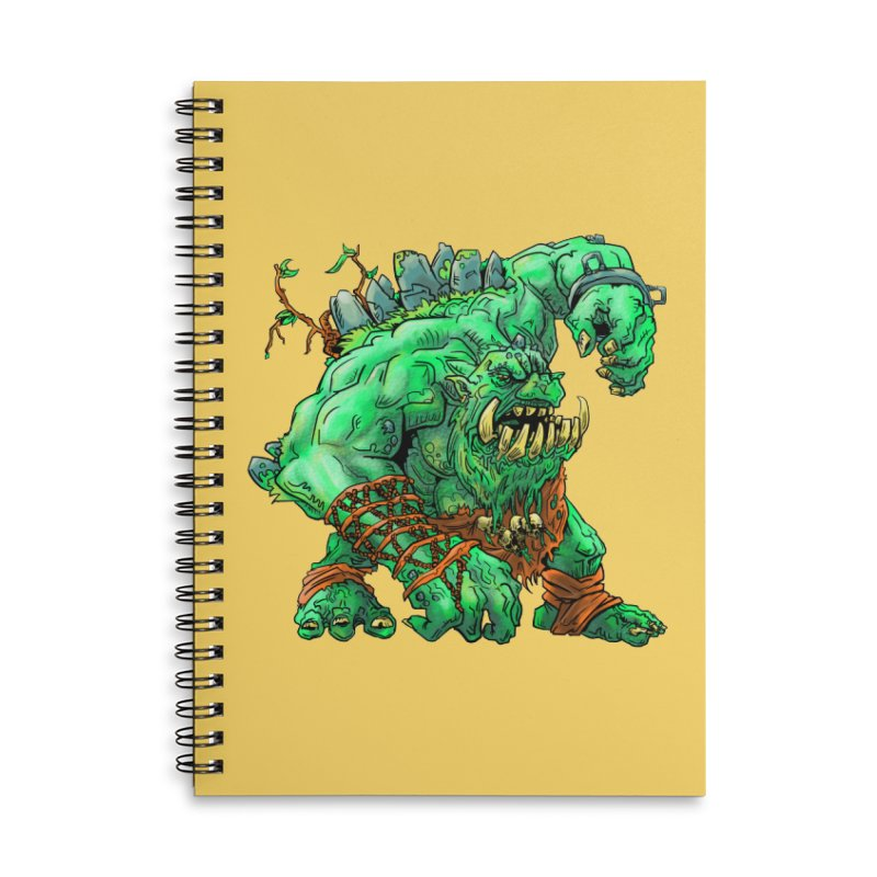 Straight Trollin' Accessories Lined Spiral Notebook by