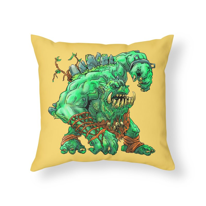 Straight Trollin' Home Throw Pillow by
