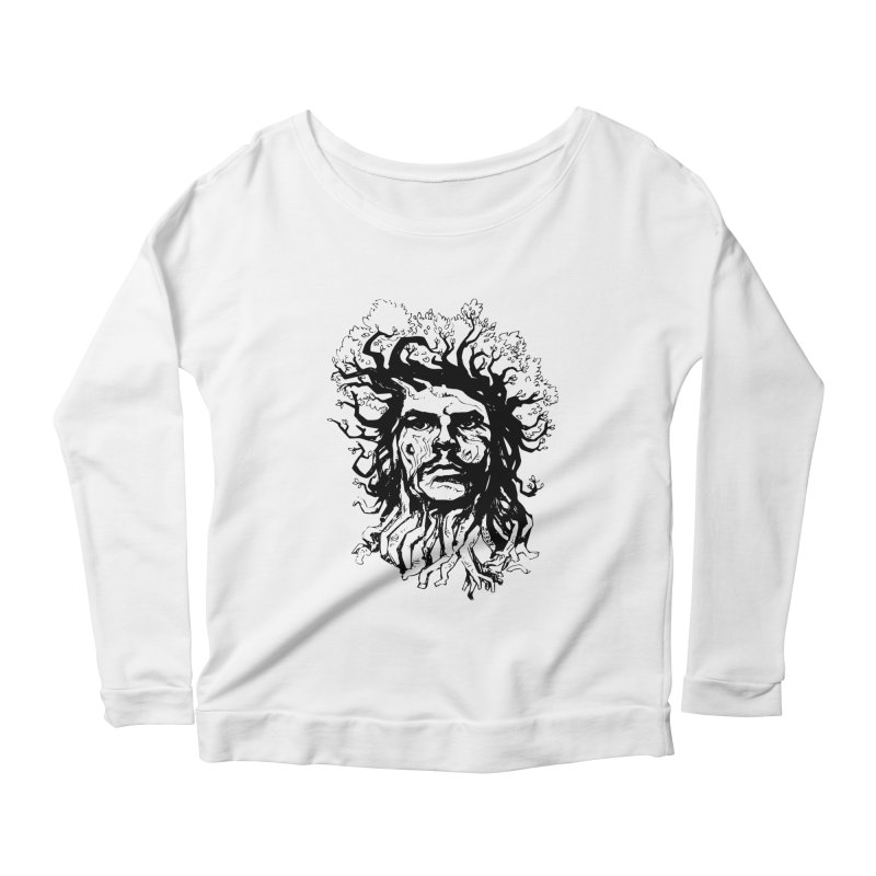 Treesist Women's Scoop Neck Longsleeve T-Shirt by