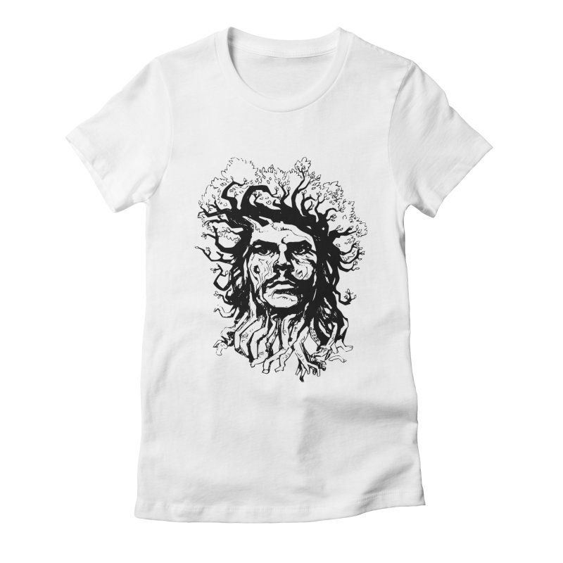 Treesist Women's Fitted T-Shirt by