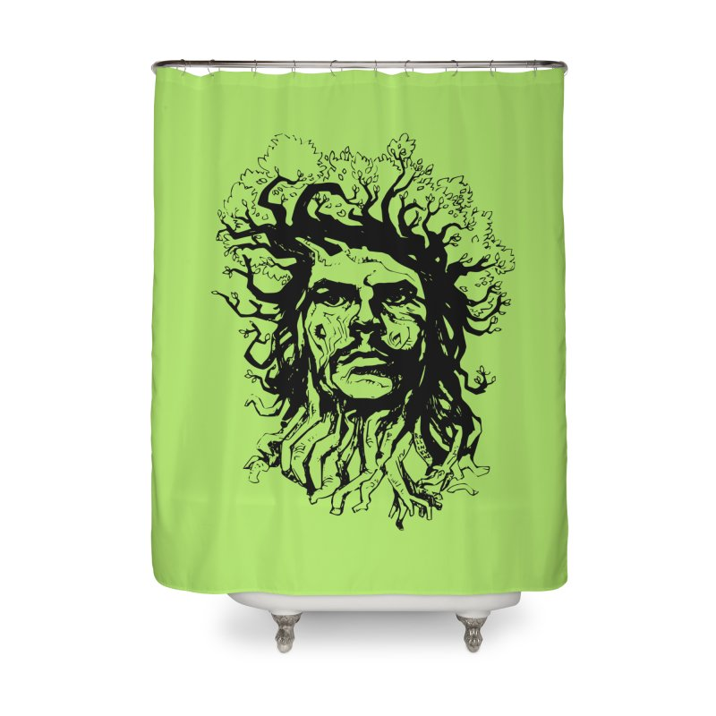 Treesist Home Shower Curtain by