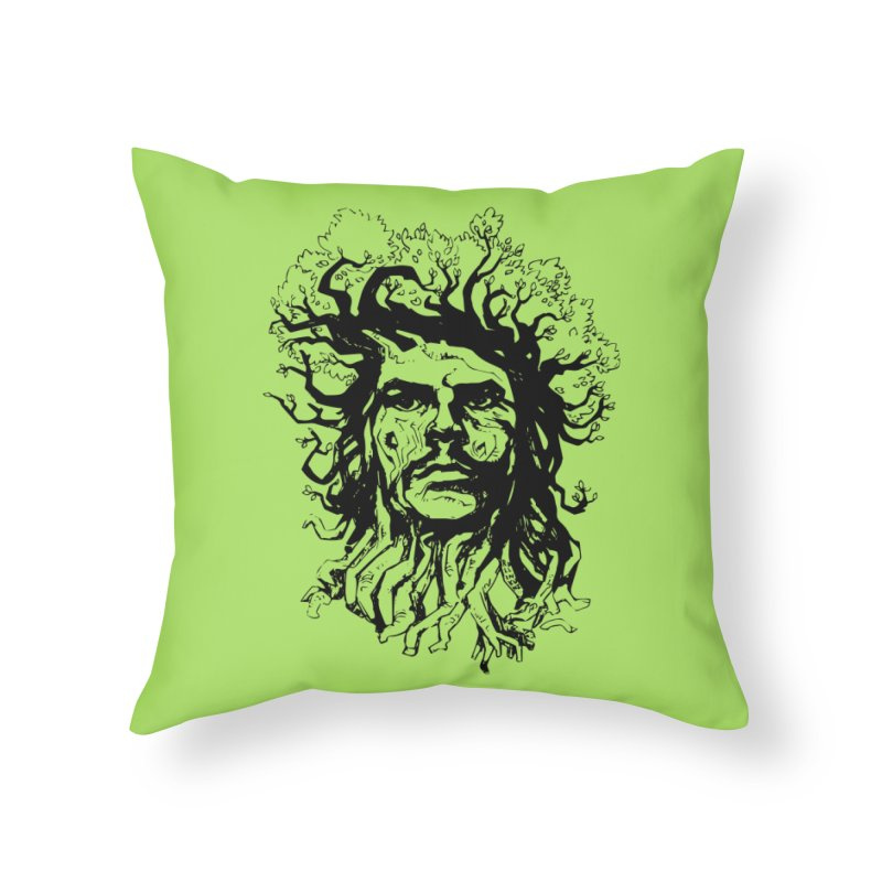 Treesist Home Throw Pillow by