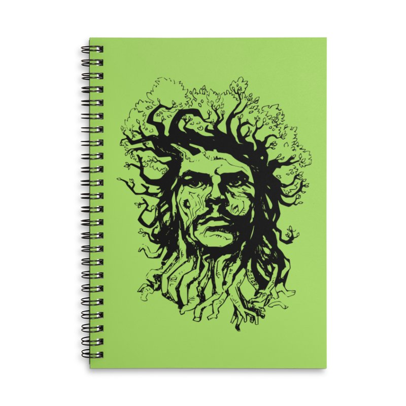 Treesist Accessories Lined Spiral Notebook by
