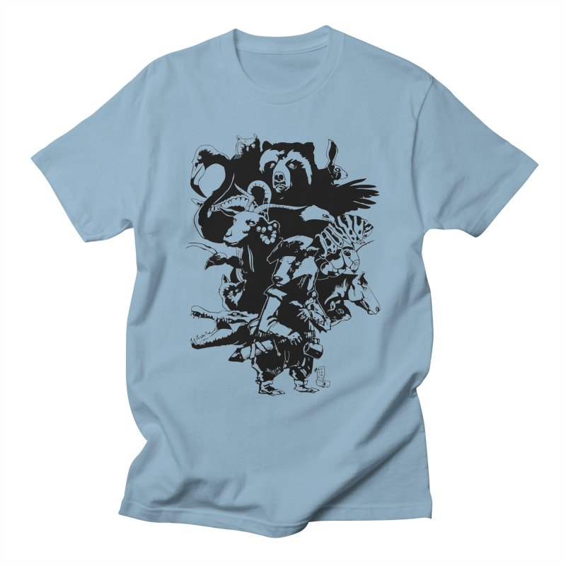Chunt, King of the Badger (Uncolored) Men's T-Shirt by