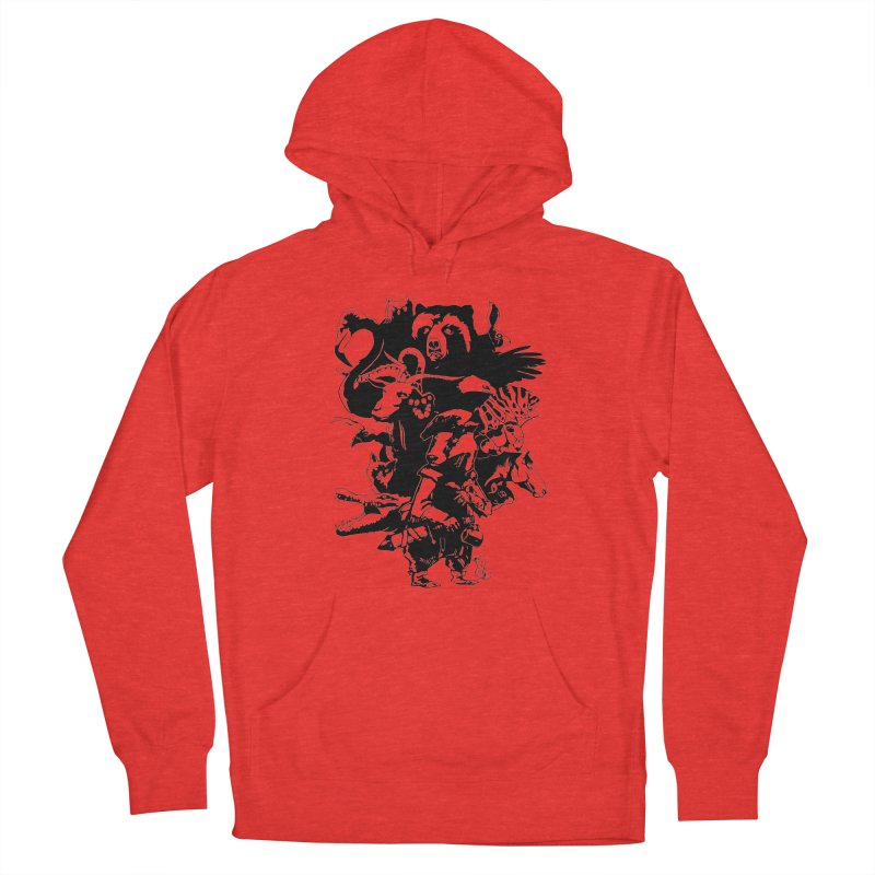 Chunt, King of the Badger (Uncolored) Men's Pullover Hoody by