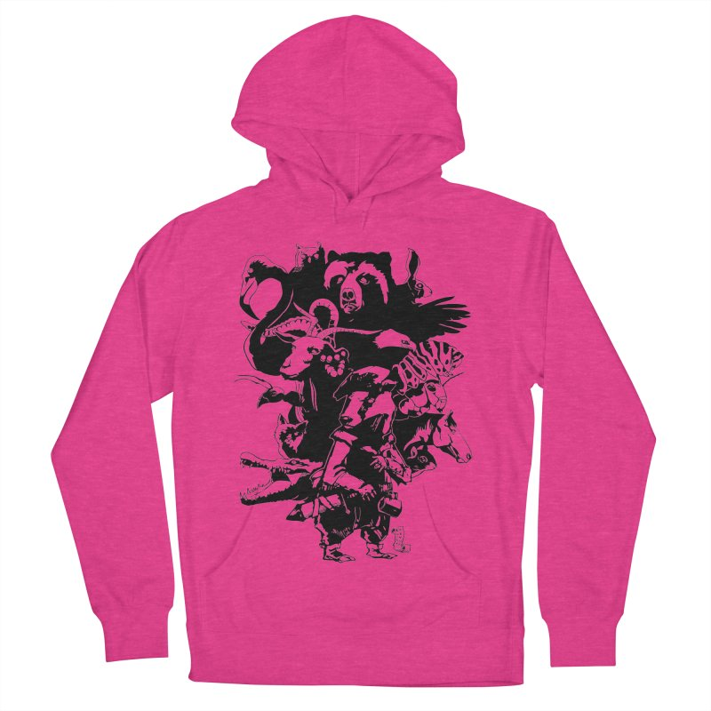 Chunt, King of the Badger (Uncolored) Women's Pullover Hoody by