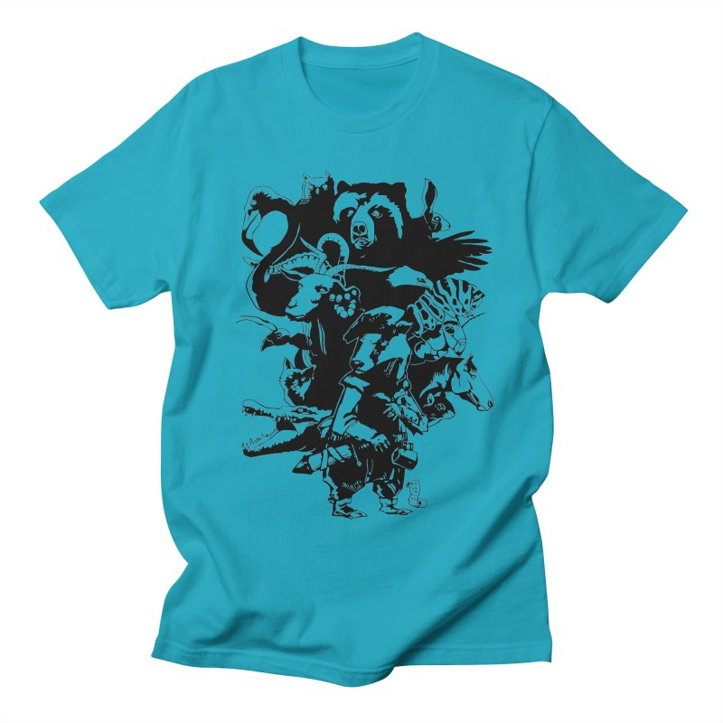 Chunt, King of the Badger (Uncolored) Women's Regular Unisex T-Shirt by