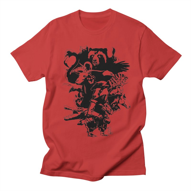 Chunt, King of the Badger (Uncolored) Men's Regular T-Shirt by