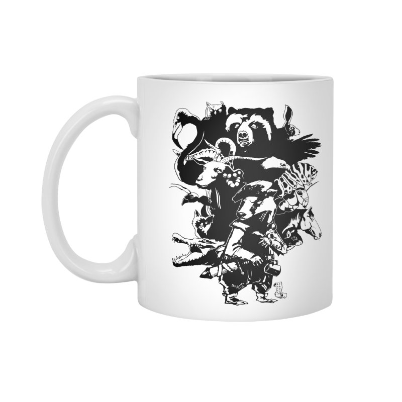 Chunt, King of the Badger (Uncolored) Accessories Mug by