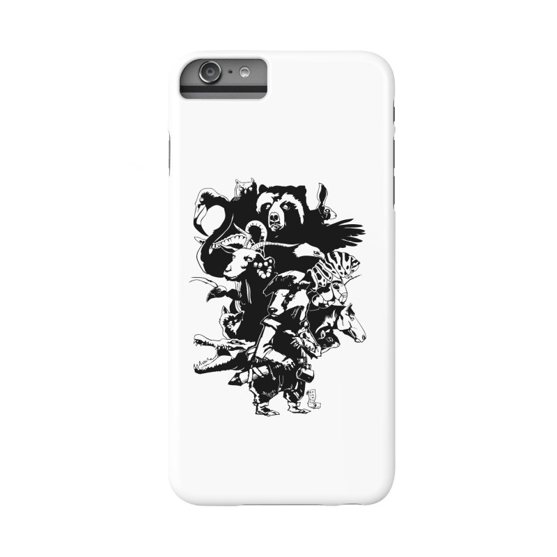 Chunt, King of the Badger (Uncolored) Accessories Phone Case by