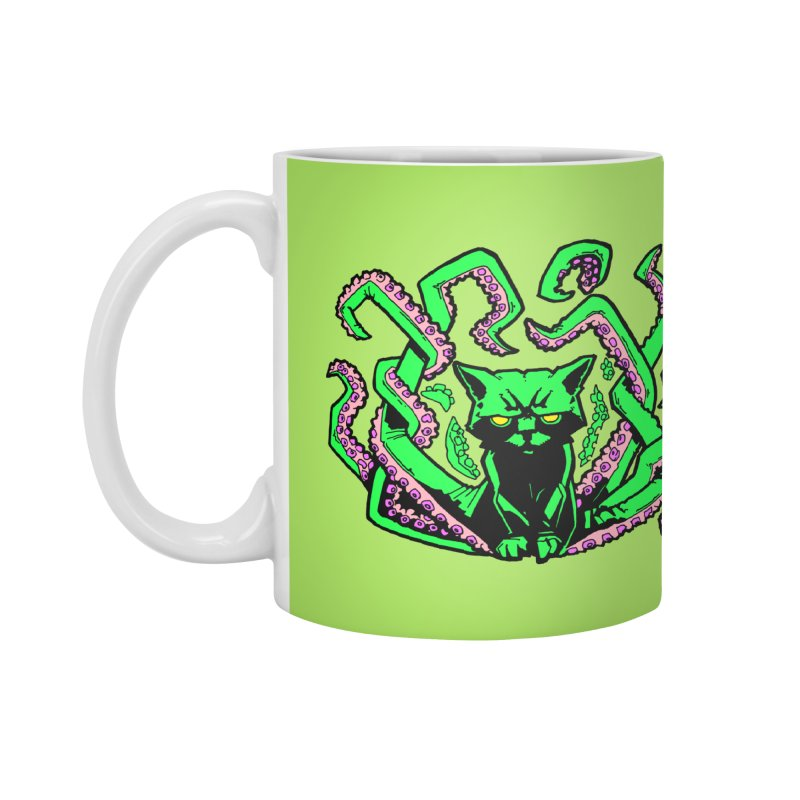 Catthulhu Accessories Mug by