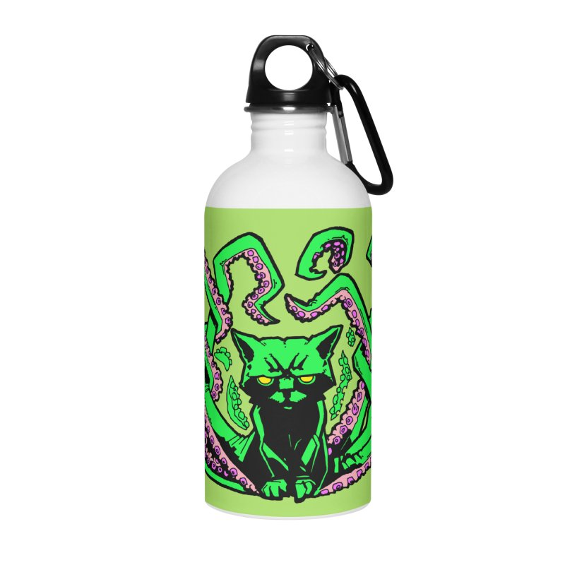 Catthulhu Accessories Water Bottle by