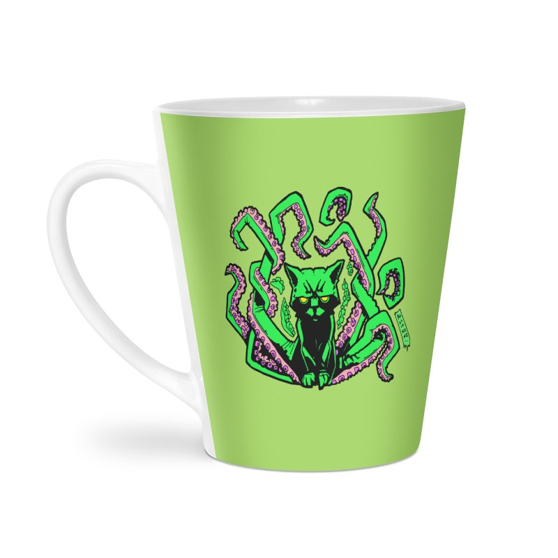 Catthulhu Accessories Latte Mug by