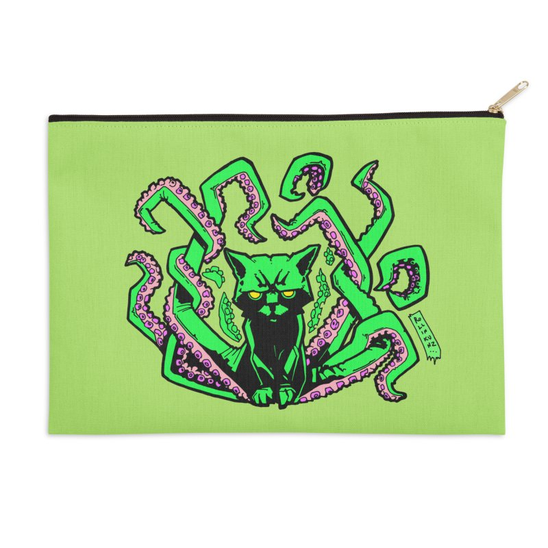 Catthulhu Accessories Zip Pouch by
