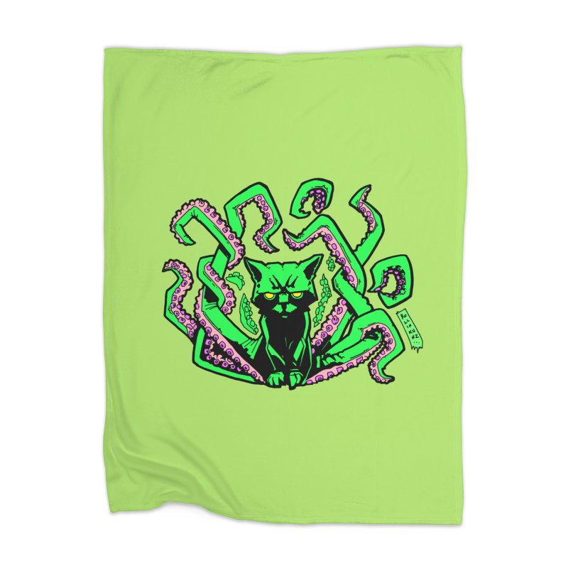 Catthulhu Home Blanket by