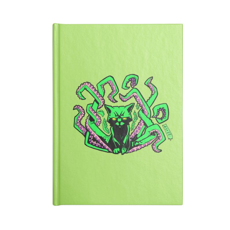 Catthulhu Accessories Notebook by