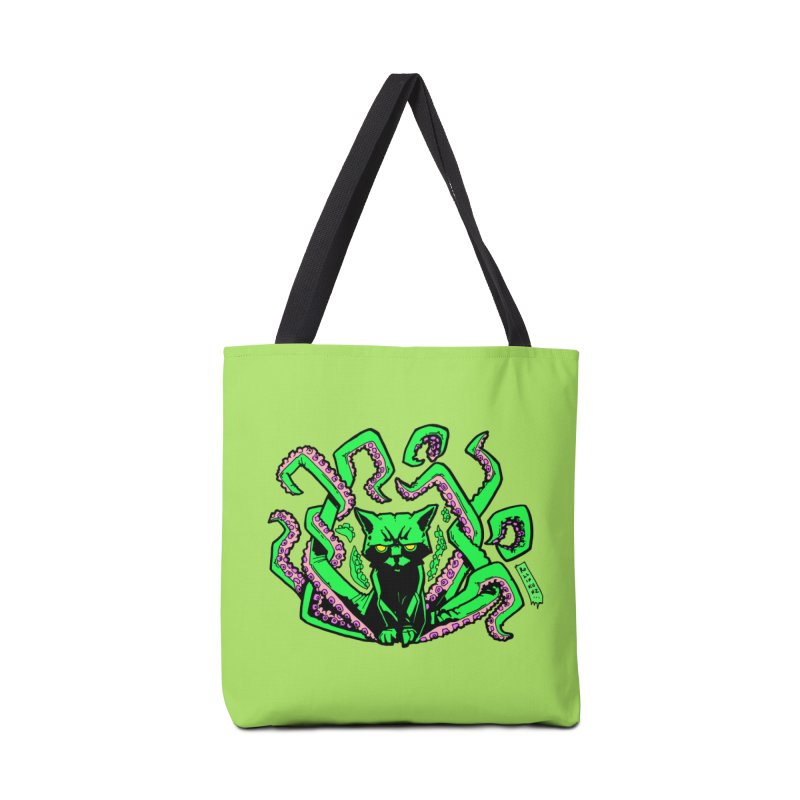 Catthulhu Accessories Tote Bag Bag by
