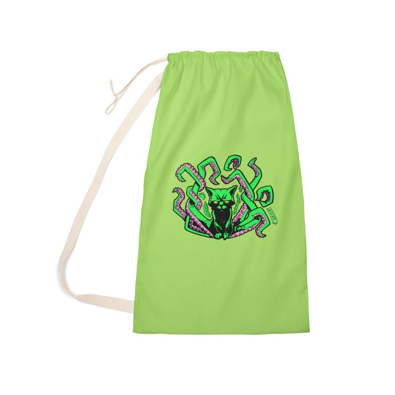 Catthulhu Accessories Laundry Bag Bag by