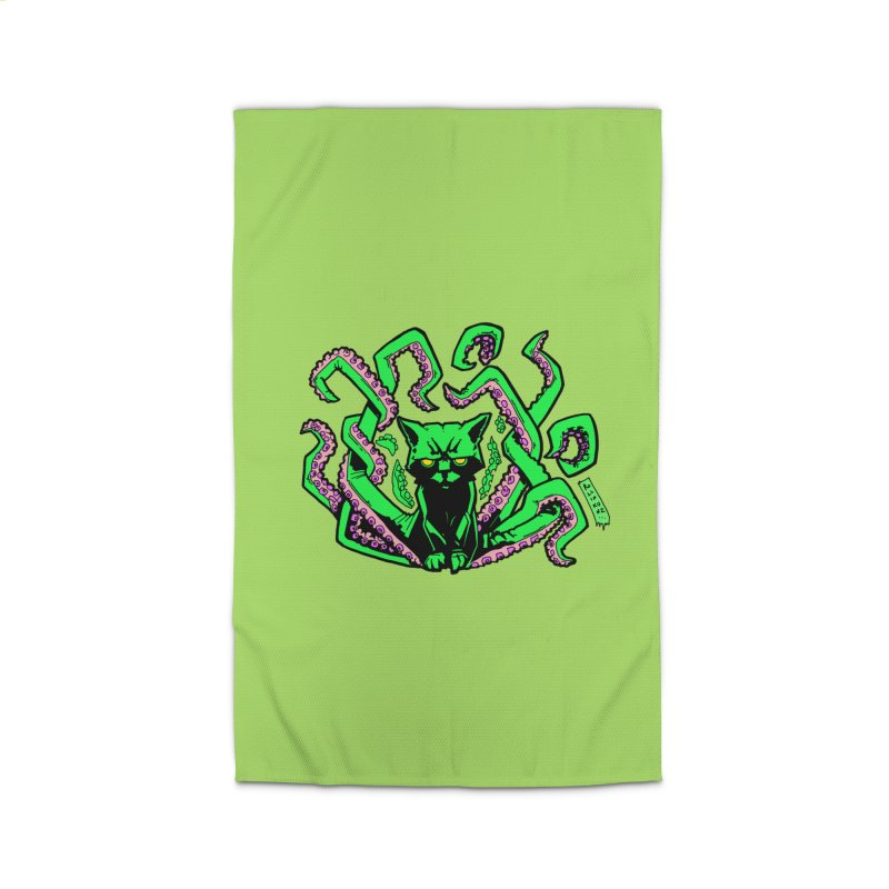 Catthulhu Home Rug by