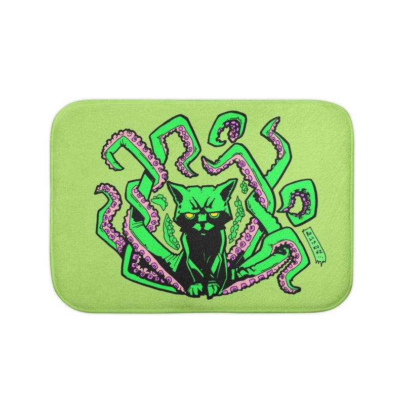 Catthulhu Home Bath Mat by