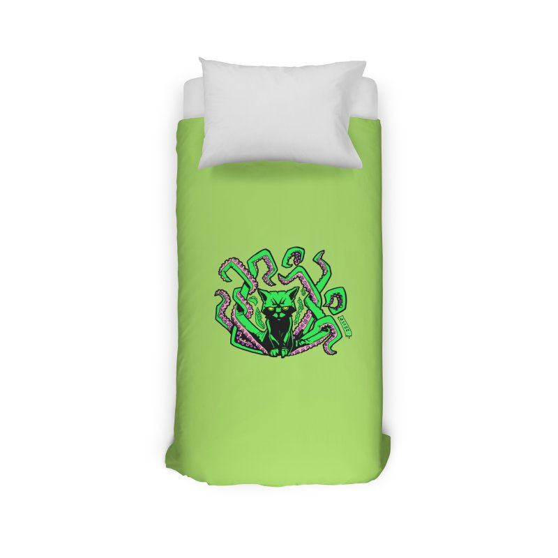 Catthulhu Home Duvet by
