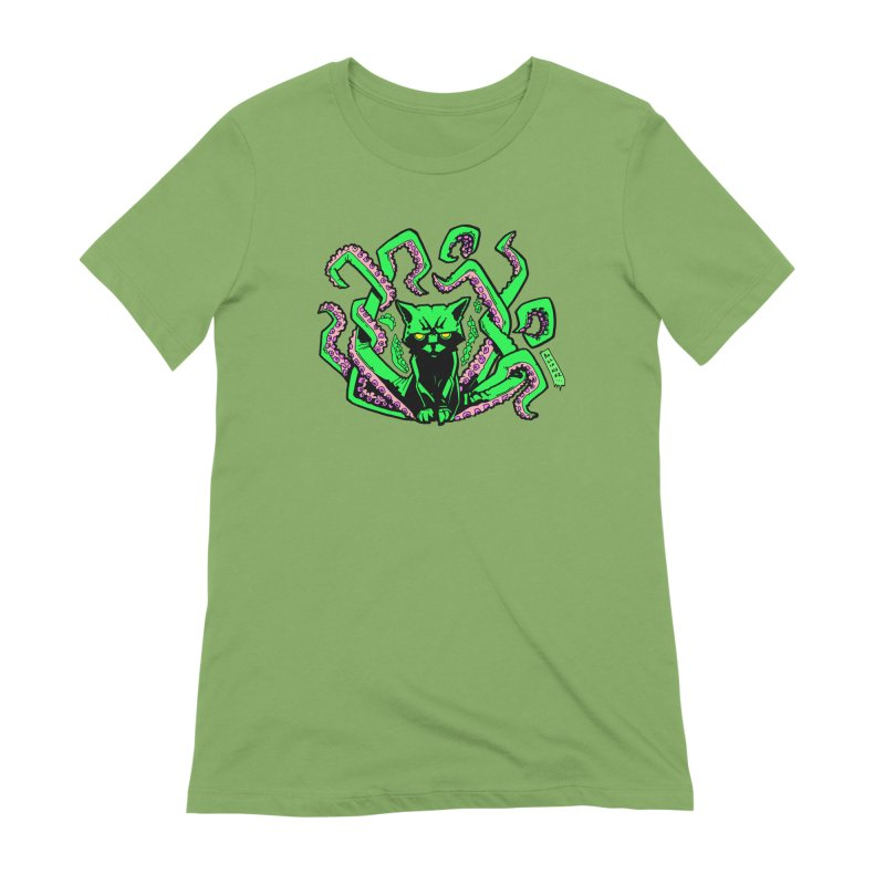 Catthulhu Women's Extra Soft T-Shirt by
