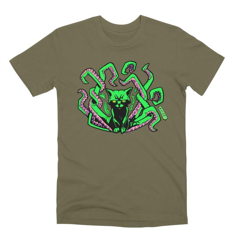 Catthulhu Men's Premium T-Shirt by