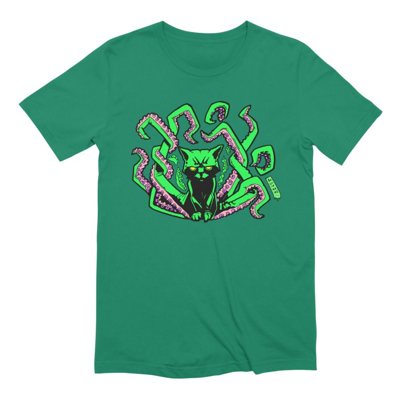 Catthulhu Men's Extra Soft T-Shirt by