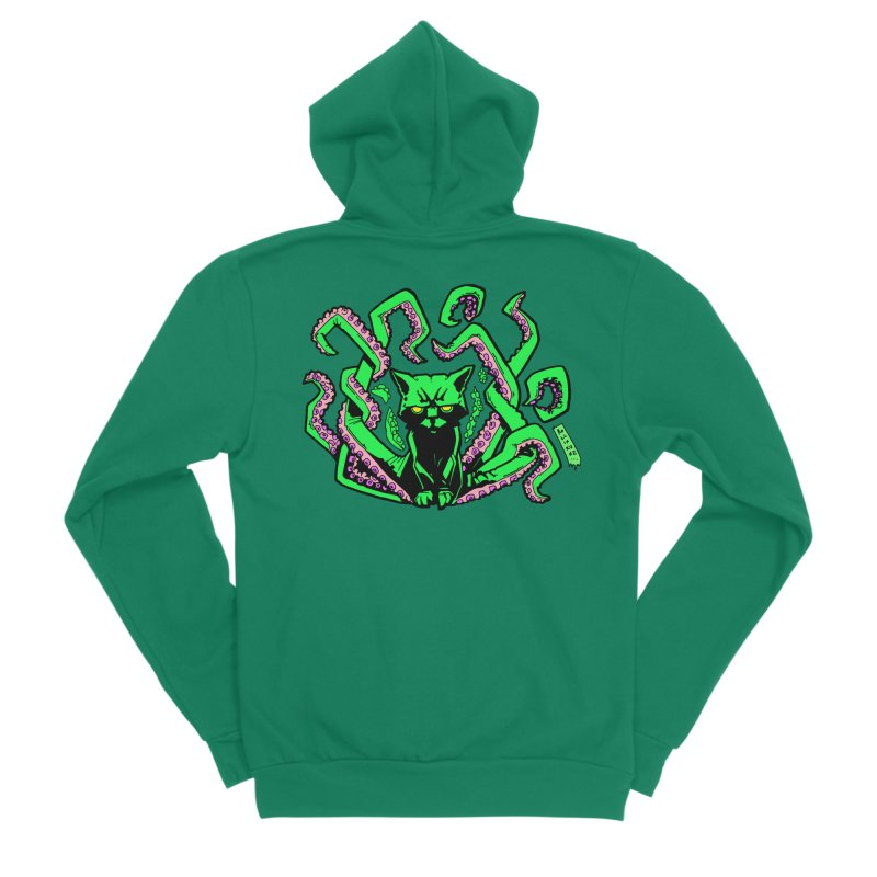 Catthulhu Women's Zip-Up Hoody by