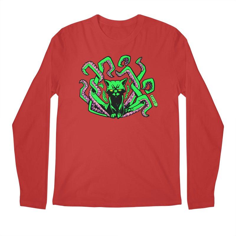 Catthulhu Men's Longsleeve T-Shirt by