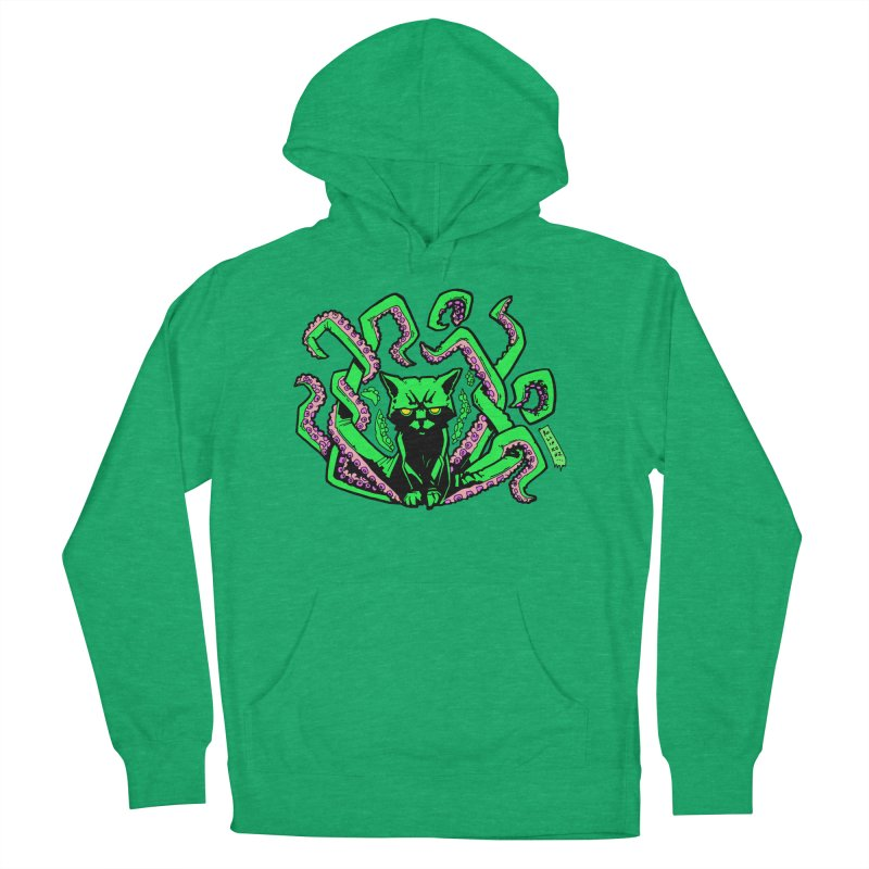 Catthulhu Men's French Terry Pullover Hoody by