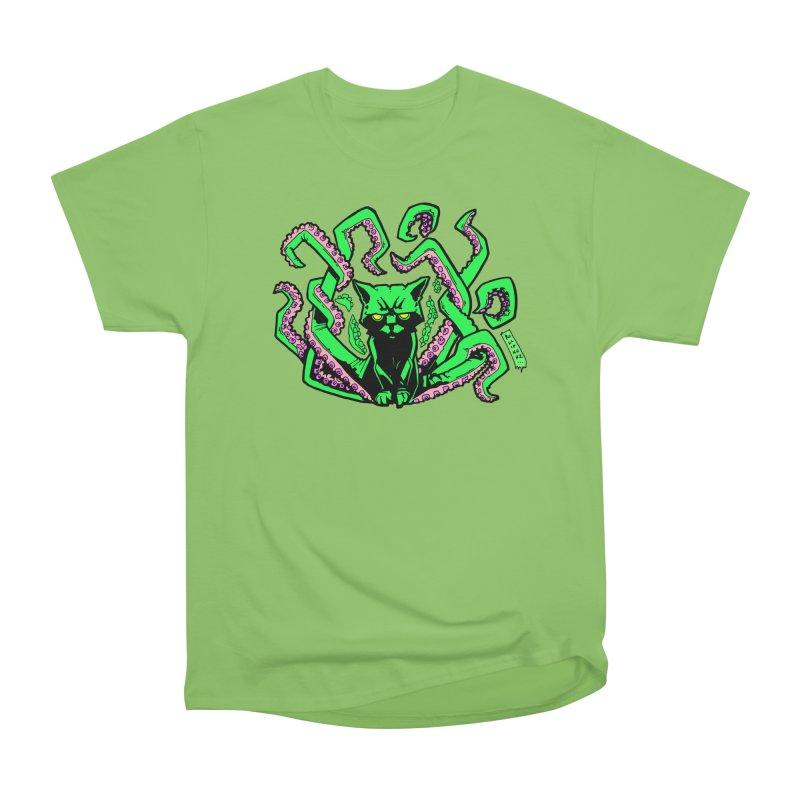 Catthulhu Women's Heavyweight Unisex T-Shirt by
